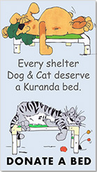 Donate a Kuranda Bed to VRHS